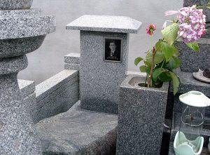 遺影彫刻法名碑Bタイプ
